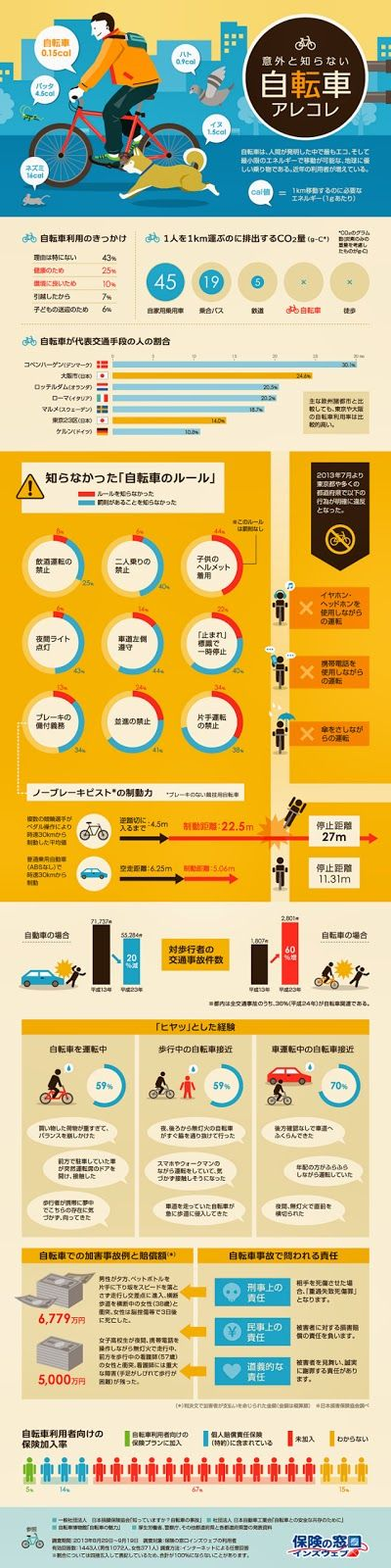Tokyo By Bike - Cycling News & Information from Japan: Japanese Cycling Rules a Mystery for Japanese Cyclists (Infographic)