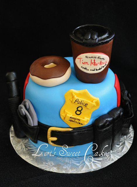 Police Cakes | Police Cake | Flickr - Photo Sharing!