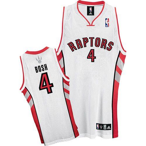 Toronto Raptors Chris Bosh 4 Red Authentic Jersey Sale