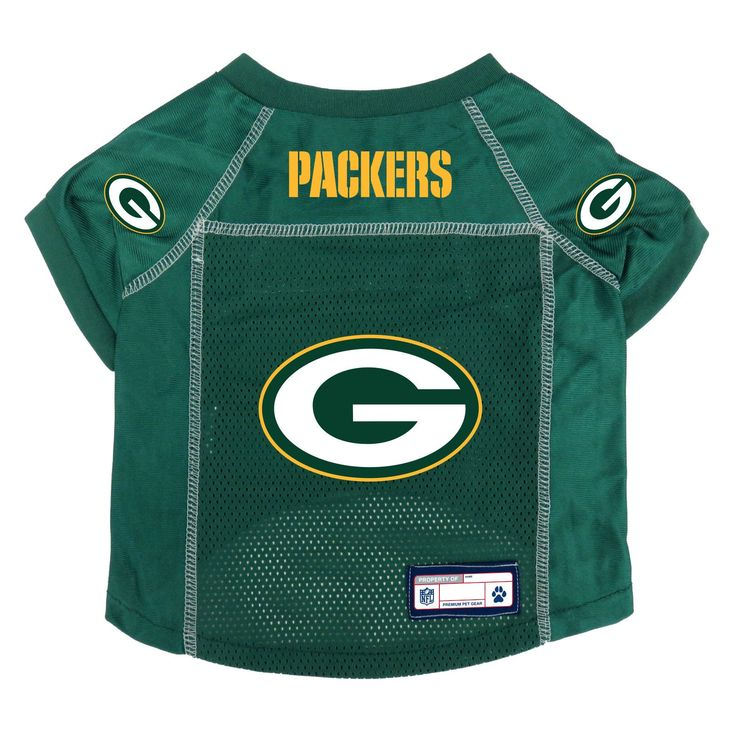 Green Bay Packers Pet Jersey Size XS