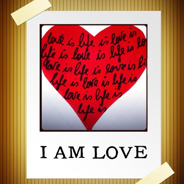 I am Love. Everything inside of me and outside of me is love. Today I choose to repeat this, believe this, and commit to this.   I am love. Anything else I have chosen to believe is FEAR (False Evidence Appearing Real.) What I choose to see as real today is love and only love. I am love. ~ May Cause Miracles prayer.