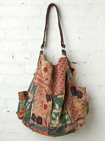 Vintage Kanta Bag ~ Inspiration ~ love these vintage fabrics