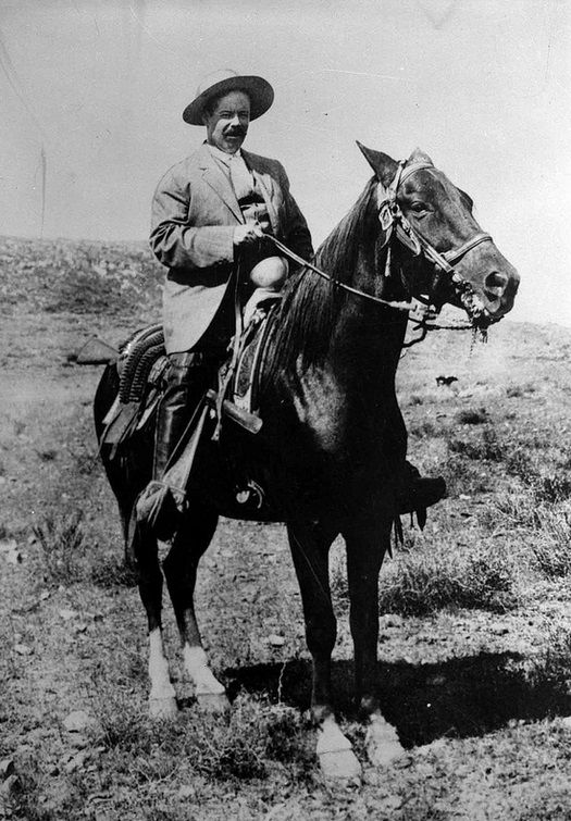 Pancho Villa during the Mexican Revolution. ...