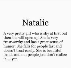 Image result for nathalie name meaning