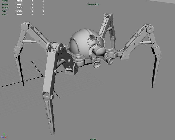 robotic spider legs - Google Search