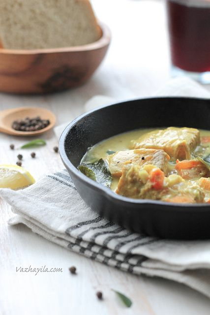 ... Salmon in coconut-cashew curry) | Fish | Pinterest | Stew, Chili and