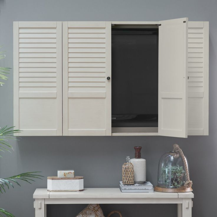 belham living nantucket shutter front tv wall cabinet whether youu0027re looking to reduce