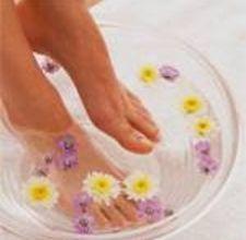 detox through your feet.