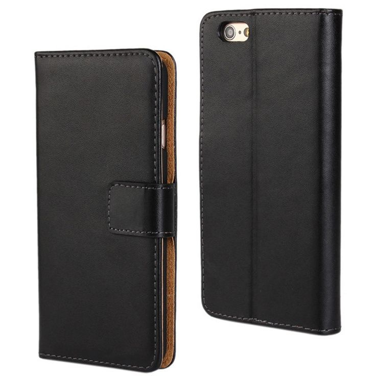 New Case - Black Genuine Leather Wallet Case for Apple iPhone 6 Mobile Phone Cover, $19.95 (http://www.newcase.com.au/black-genuine-leather-wallet-case-for-apple-iphone-6-mobile-phone-cover/)