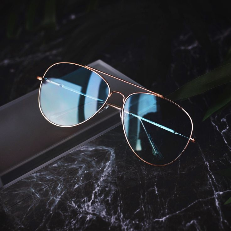 Aqua Blue-Green Aviator Sunglasses   BLANK AND BLUE
