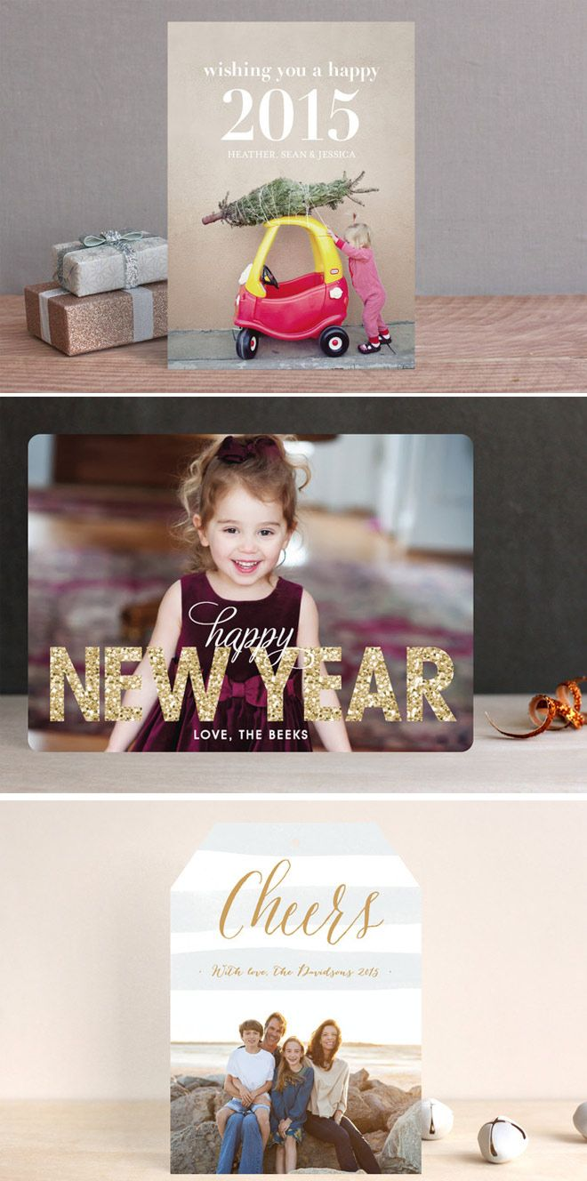Minted New Years Cards