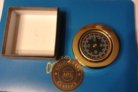 AITG Solid Brass Classic Compass by Threecatladies on Etsy https://www.etsy.com/listing/266644203/aitg-solid-brass-classic-compass