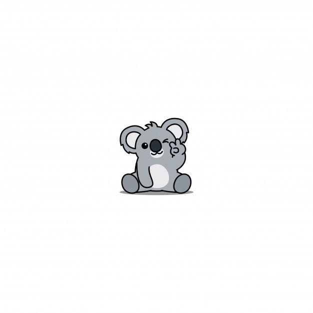 Cute Koala Winking Eye Cartoon Cute Cartoon Wallpapers Cute Wallpapers Cute Little Drawings Cute koala hd wallpapers