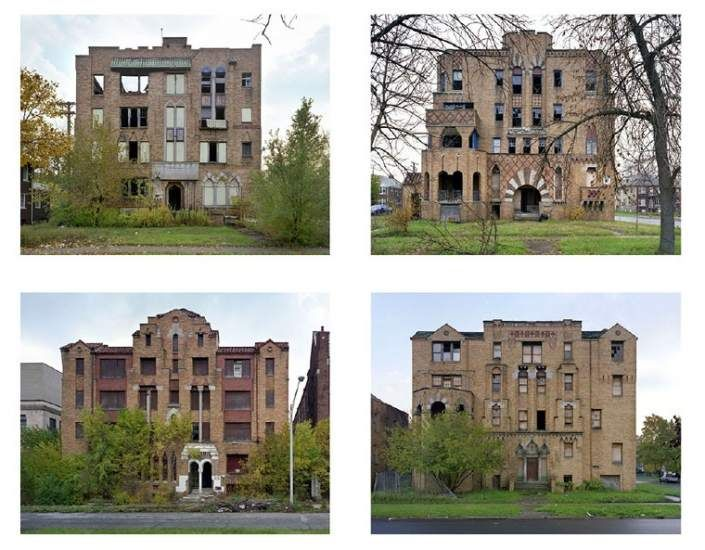 (Yves Marchand y Romain Meffre)  A place that once held life for humans and now has turned to ruins and created a new home for plants and animals is beautiful. I plan on using this in my photos just like Yves has.