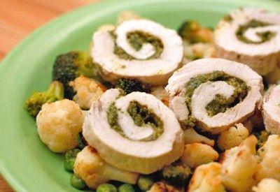 Рулетики из индейки » Аппетитно: кулинарные рецепты