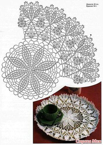 Crochet Doily, beautiful МиМ_№11_2008_p0007_Салфетка