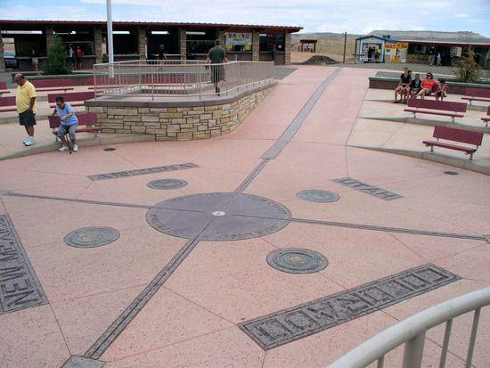 map of utah and arizona meet