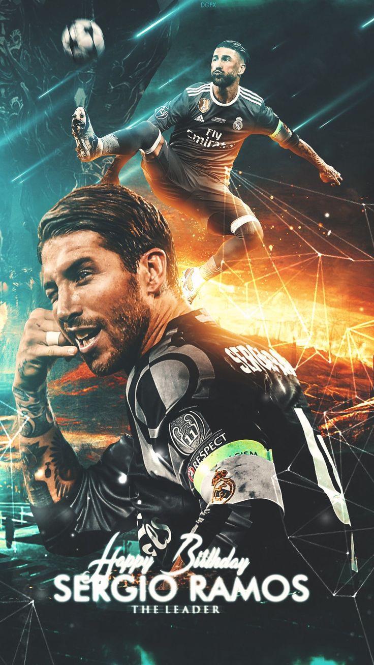 Sergio Ramos #football #realmadrid #wallpaper #art