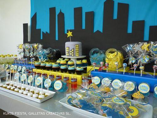 Superfiesta Batman para Tristán   Fiestas infantiles y cumpleaños de niños
