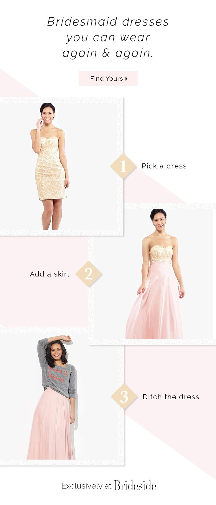 215 Best Pink Bridesmaid Dresses Images On Pinterest