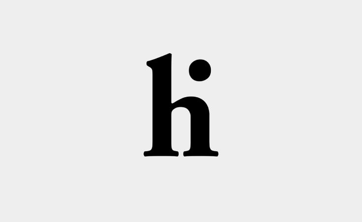 #logo design: hi