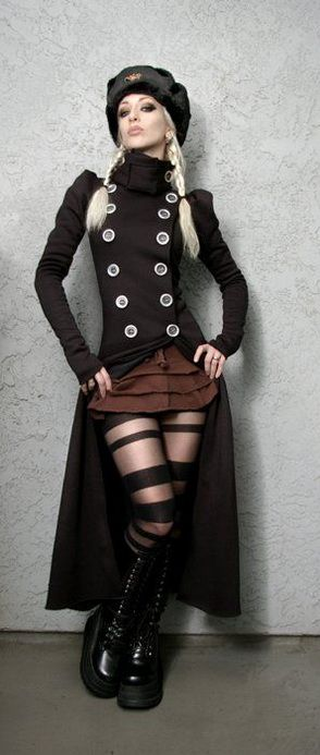 Hottest Alluring Steampunk & Goth Babes Compilation of The Grizzled Monarch because they are the hottest treat or prepare in a certain way, in particular according The Grizzled Monarch Expert in the Feminine Body Structure