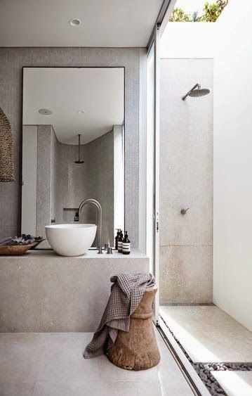Simple Elegance walk in Shower and Vanity.