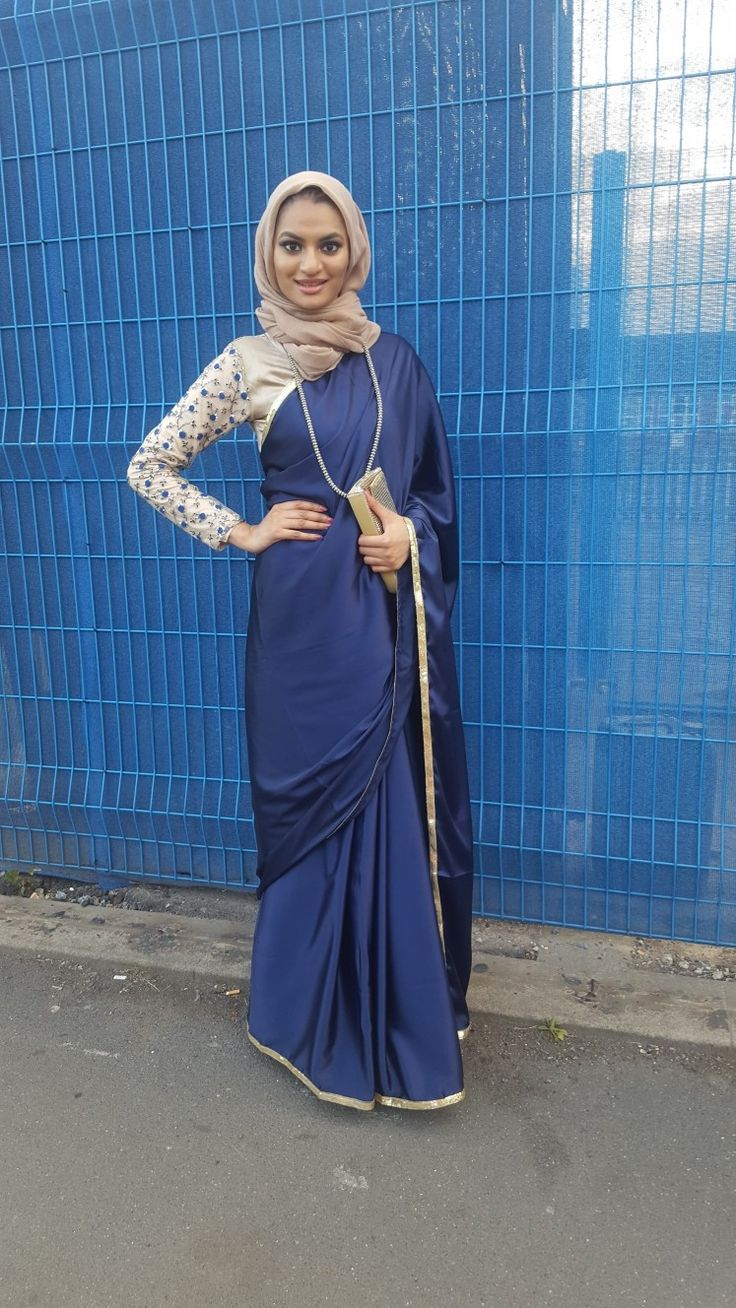 Insta: ameena_c_ #ModestFashion #Hijabi #Muslimah #Saree #Sari #Wedding #shaadi #party #Indian #Bengali #Eid #Celebration