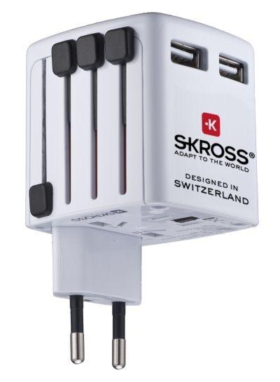 dlaniego.net : Podwójna Uniwersalna Ładowarka USB Skross