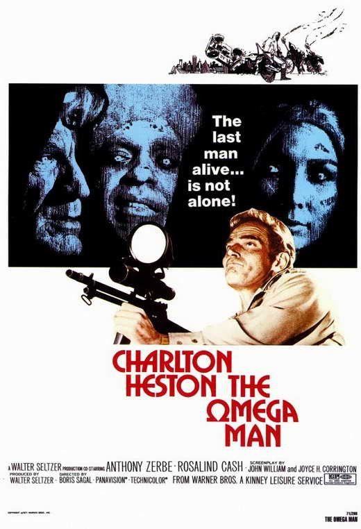 The Omega Man (1971) - Charlton Heston DVD