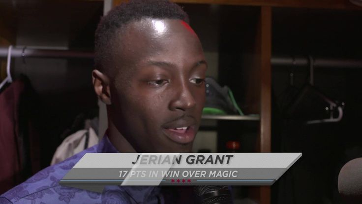 Jerian Grant discusses last night's big win and his first NBA double-double: