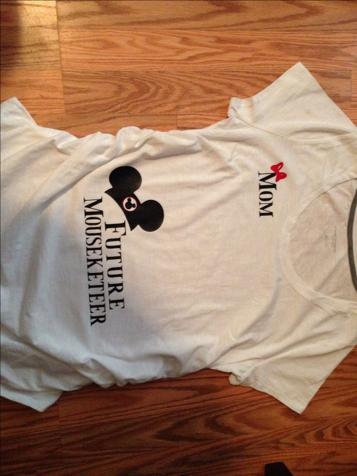 Future Mousekeeteer Maternity T-Shirt by MommasCraftCorner on Etsy