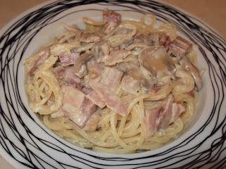 Olga's cuisine...και καλή σας όρεξη!!!: Καρμπονάρα με κρέμα γάλακτος