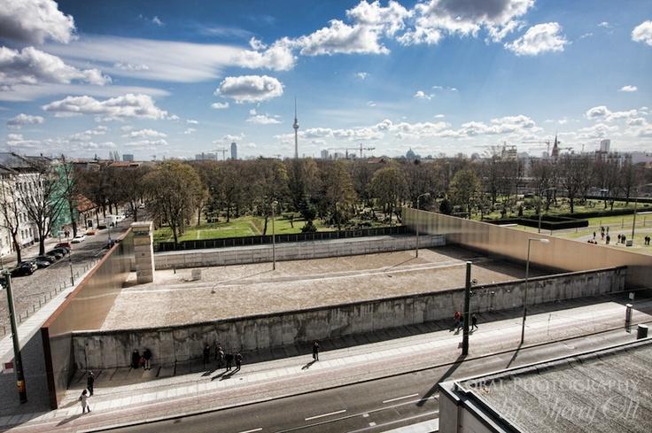 Great shot from Sherry at the Berlin Wall Memorial, Bernauer Straße.   (GowithOh tour, Berlin 01.04.2012)  (http://www.ottsworld.com/)