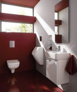 Genialer Platz: Das Gäste-WC.