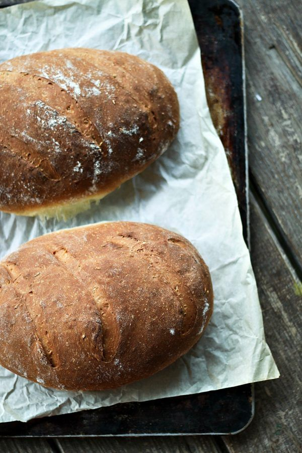 One Hour Swedish Limpa: slightly sweet Swedish rye bread scented lightly with orange zest and fennel seed. This is the ultimate toasting bread and it is made -start to finish- in one hour!