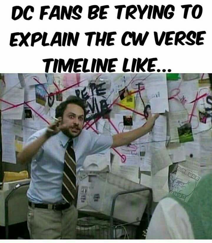 This is what happens when I try to explain this to my friends since I already knew the multiverse complexity from the comics