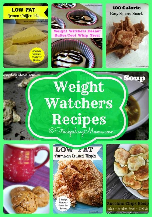 A HUGE collection of our favorite Weight Watchers Recipes! #weightwatchers #recipes