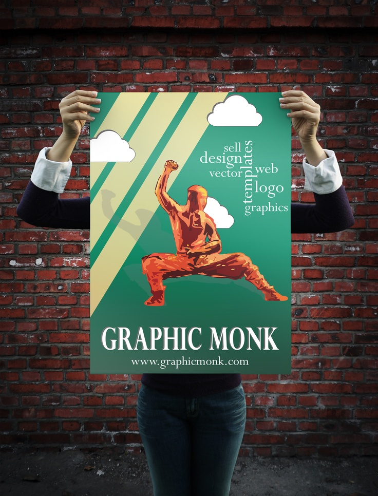 Can you design Posters? Then We Need You! Calling all Graphic Artists. Best Poster Design wins the 2013 Graphic Monk T-Shirt. SignUp Today & Earn money selling your designs on Graphic Monk.