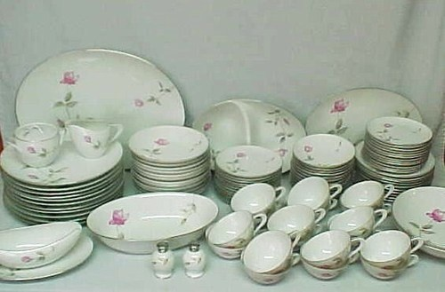 100 pc Fine China Set DAWN ROSE Style House Sango Japan Dinnerware Service / 12 & 14 best Our Dishes images on Pinterest | Dinnerware Dishes and Utensils