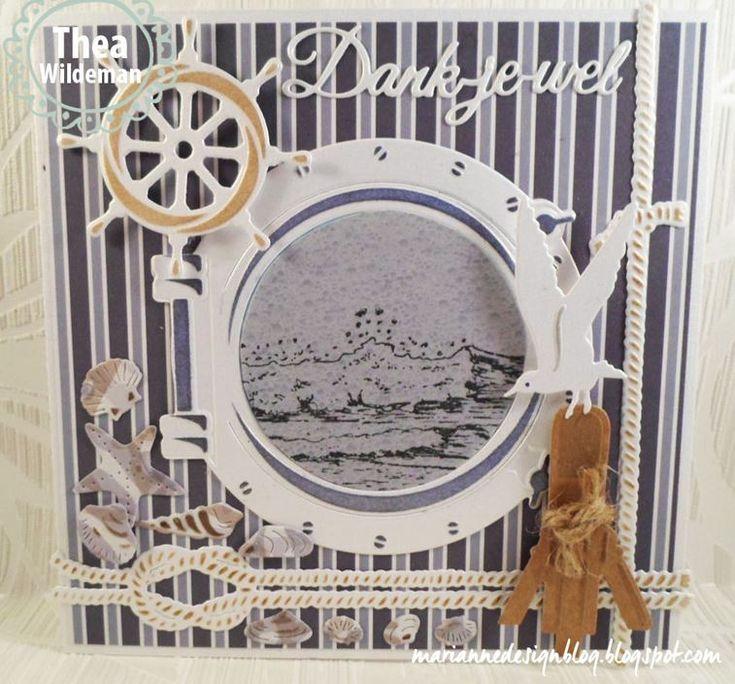 **PRE-ORDER** Marianne Design - Creatables Die - Porthole & Ship's Wheel