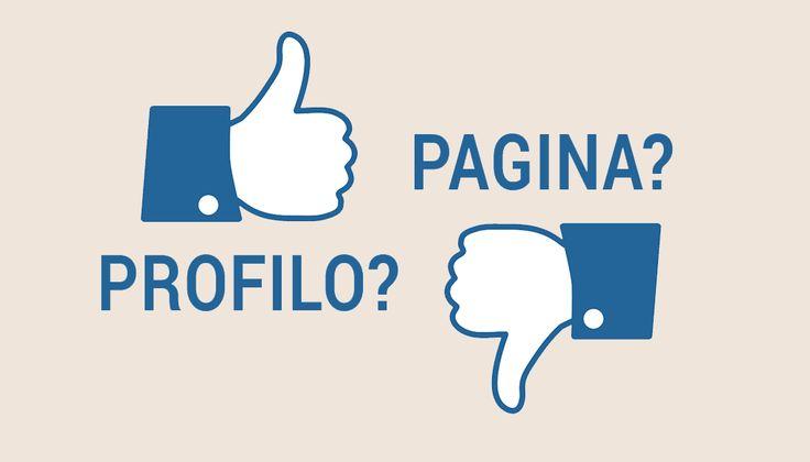 Pagina o Profilo Facebook