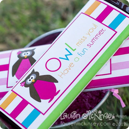 The Party Wagon - Blog - OWL MISS YOU (TeacherGifts)