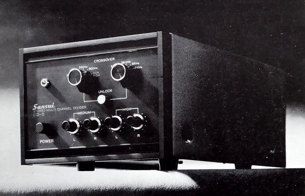 SANSUI CD-5 (released in September 1969)