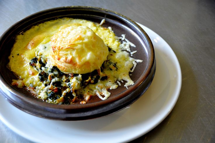 Soufflé di formaggio – twice baked cheese soufflé with chard | italy on my mind
