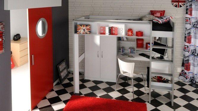 Cr Er Un Espace De Travail Dans La Chambre D Ado Bureaux Photos Et Mezzanine
