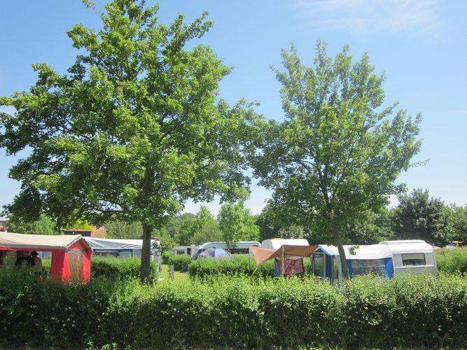 Camping am Wisseler See (NRW) -Willkommen
