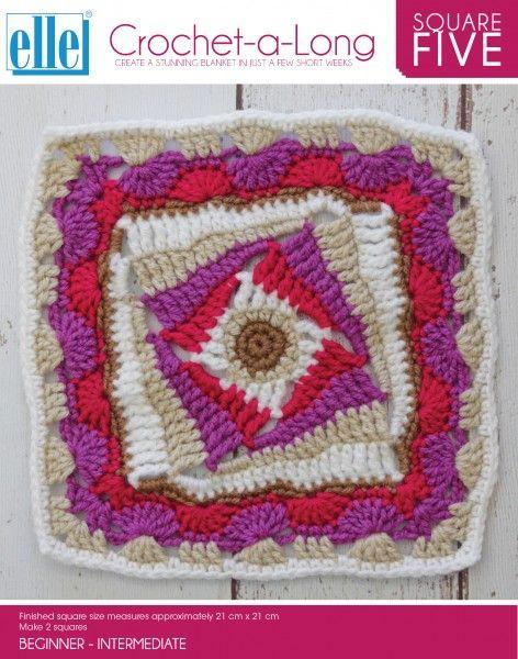 CAL Square 5 - Crochet-a-Long - Patterns