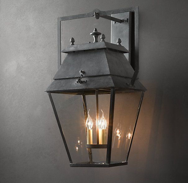Stockholm Sconce Restoration Hardware. Exterior LightingOutdoor ...