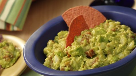 "Easy guacamole recipe ""rocks"" with zesty RO*TEL® tomatoes, onion and lime juice added to creamy mashed avocados. Find recipes at DollarGeneral.com."